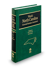 West's® North Carolina General Statutes Annotated