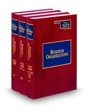 Oklahoma Business Organizations Forms and Practice (Vols. 3A, 3B, and 3C, Vernon's Oklahoma Forms, 2d)