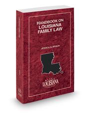 Handbook on Louisiana Family Law, 2019-2020 ed.