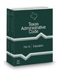 Education, 2021 ed. (Title 19, Texas Administrative Code)