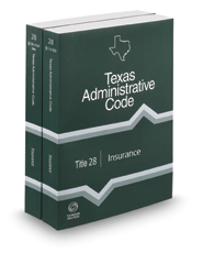 Insurance, 2017 ed. (Title 28, Texas Administrative Code)
