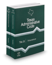Insurance, 2018 ed. (Title 28, Texas Administrative Code)
