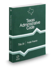 Public Finance, 2017 ed. (Title 34, Texas Administrative Code)