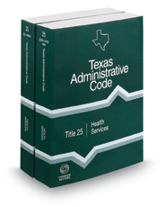 Health Services, 2018 ed. (Title 25, Texas Administrative Code)