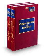 Oklahoma Criminal Practice and Procedure (Vols. 2A and 2B, Vernon's Oklahoma Forms, 2d)