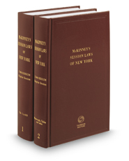 McKinney's® New York Session Law Service, 2016 Annual Bound Books