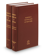 McKinney's® New York Session Law Service, 2017 Annual Bound Books