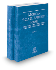Michigan SCAO Approved Forms, 2018 ed.