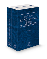 Michigan SCAO Approved Forms, 2021 ed.