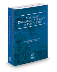 Puerto Rico Rules of Court - Manual de Reglas and Federal, 2016 ed. (Puerto Rico Court Rules)