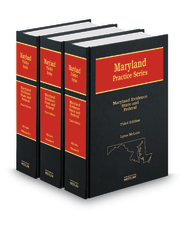 Maryland Evidence, State & Federal, 3d  (Vols. 5-6A, Maryland Practice Series)