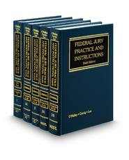 Federal Jury Practice and Instructions, 6th—Vols. 1, Jury Trial and  1A-2B, Criminal