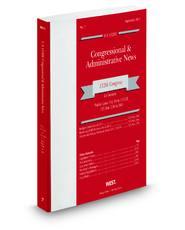 U.S. Code Congressional & Administrative News