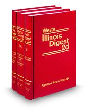 West's® Illinois Digest, 2d (1938 to Date) (Key Number Digest®)