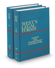 Employment, Agents, and Independent Contractors, 4th (Vols. 23A - 24A, West's® Legal Forms)