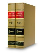Federal Supplement®
