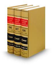 Supreme Court Reporter Bound Volume