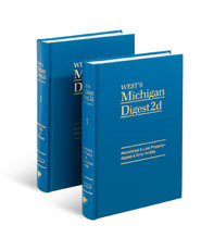 West's® Michigan Digest, 2d (Key Number Digest®)