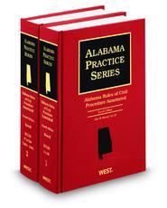 Alabama Rules of Civil Procedure Annotated, 4th (Alabama Practice Series)