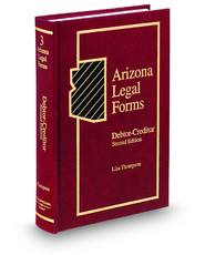 Debtor-Creditor, 2d (Vol. 3, Arizona Legal Forms)