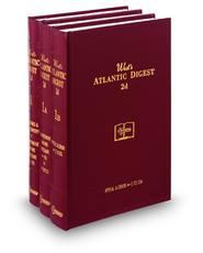 West's® Atlantic Digest®, 2d (Key Number Digest®)