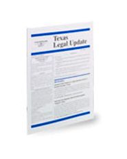 West's® Texas Legal Update