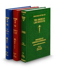 Restatements (2d, and 3d) and Principles of the Law, with Appendices