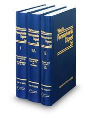West's® Pennsylvania Digest, 2d (Key Number Digest®)