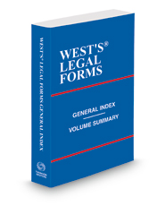 General Index, 2020-2021 ed. (West's® Legal Forms)