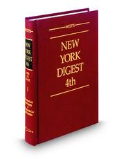 West's® New York Digest, 4th (Key Number Digest®)