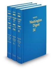 West's® Washington Digest, 2d (Key Number Digest®)