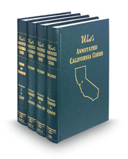 West's® Annotated California Codes (Annotated Statute & Code Series)