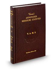 Vernon's Annotated Missouri Statutes (Annotated Statute & Code Series)