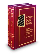 Arizona Legal Forms: Business Organizations, 2d—Corporations (Vols. 8 and 9)