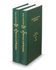 Oklahoma Statutes Annotated (Annotated Statute & Code Series)