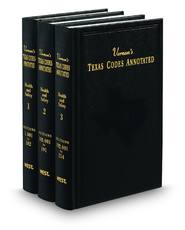 Vernon's® Texas Statutes and Codes Annotated (Annotated Statute & Code Series)