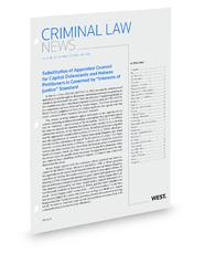 West's® Criminal Law News