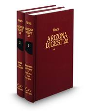 West's® Arizona Digest, 2d (Key Number Digest®)
