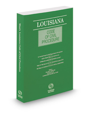 Louisiana Code of Civil Procedure, 2017 ed.