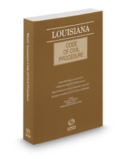 Louisiana Code of Civil Procedure, 2018 ed.