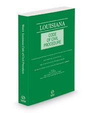 Louisiana Code of Civil Procedure, 2021 ed.