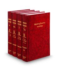Legal Forms, 3d (Vols. 6, 6A, 7, and 7A, Missouri Practice Series)