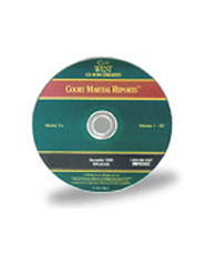 Court Martial Reports, PREMISE® CD-ROM ed.