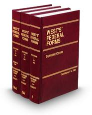Supreme Court, 5th (Vols. 1-1AA, West's® Federal Forms)