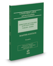 Uniform Laws Annotated Directory of Acts, 2017 ed.