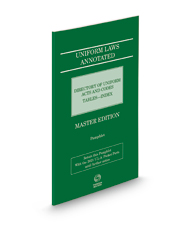 Uniform Laws Annotated Directory of Acts, 2021 ed.