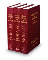 Federal Practice and Procedure, Wright & Miller—Civil Only subset—Excluding Criminal
