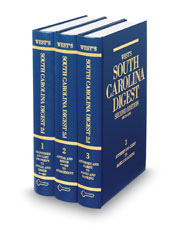 West's® South Carolina Digest, 2d (Key Number Digest®)