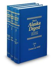 West's® Alaska Digest, 2d (Key Number Digest®)