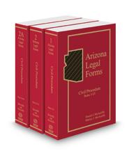 Civil Procedure, 2018 ed. (Vols. 1-2A, Arizona Legal Forms)